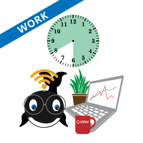 Work from home hours