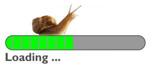 internet running slow